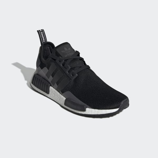 adidas nmd r1 black and white