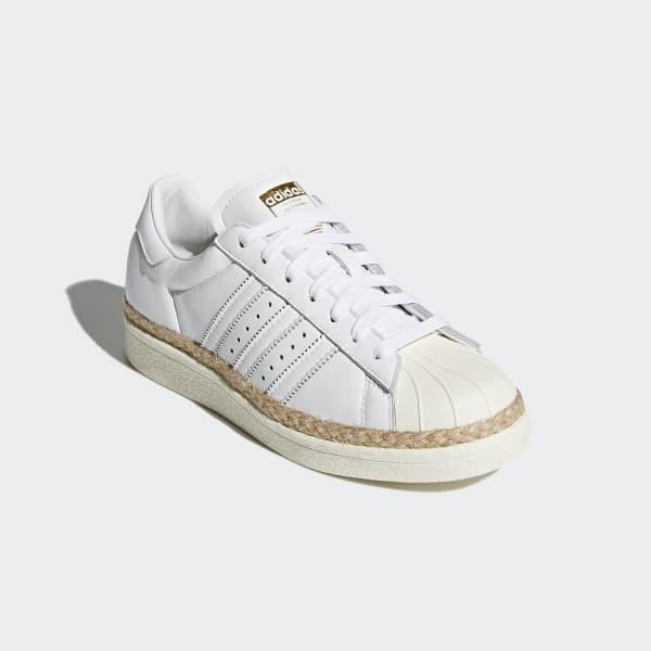 79b80e7d399 adidas Sapatos Superstar 80s New Bold - Branco