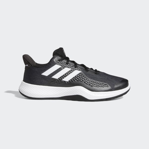 adidas FitBounce Trainers - Black