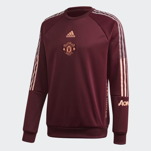 Arreglo Desgracia bebida  adidas Manchester United Travel Sweatshirt - Burgundy   adidas US