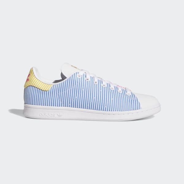 adidas Stan Smith Pride Shoes - White
