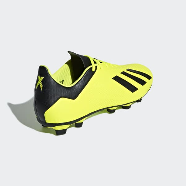 Tomar conciencia cráter cuadrado  adidas X 18.4 Flexible Ground Boots - Yellow | adidas Malaysia