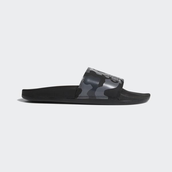 ea78fed8d09 adidas Adilette Cloudfoam Plus Graphic Slides - Black