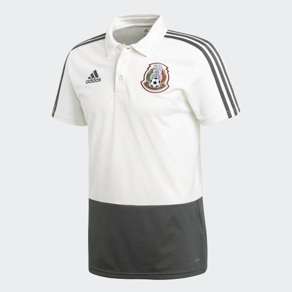 086d7b6b261a4 adidas Polo Mexico 2018 - Blanco