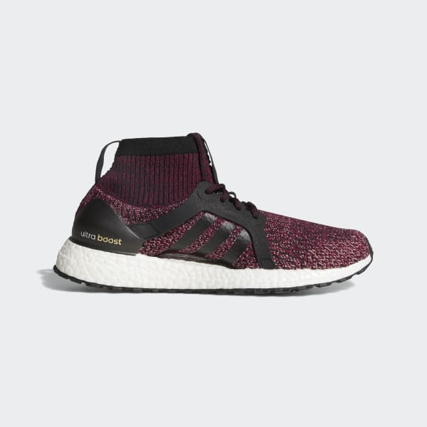 adidas Ultra Boost X All Terrain Women's Mystery Ruby/Black/Trace Pink BY1678