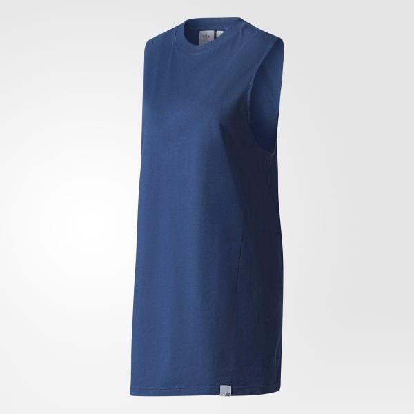6b7d59b9f3d6da adidas XbyO Tanktop - blau