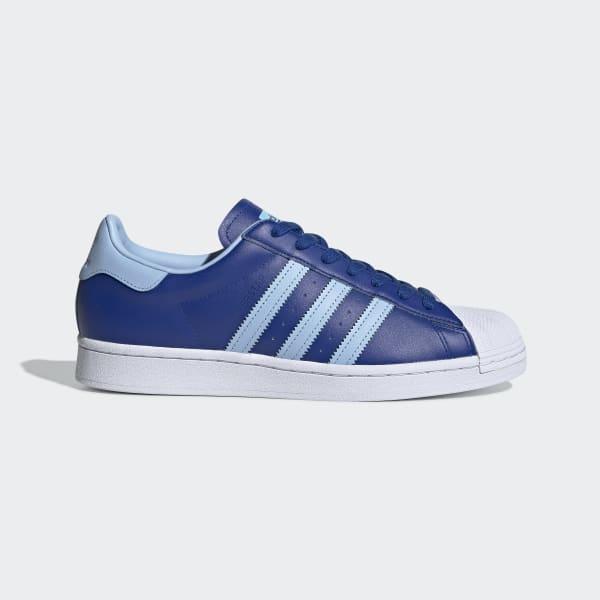 adidas donna scarpe superstar blu