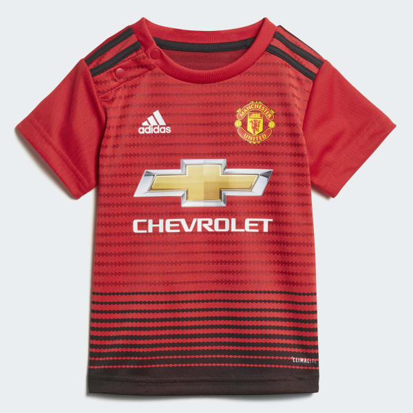 f3707296b5e adidas Manchester United Home Infant Kit - Red | adidas Malaysia