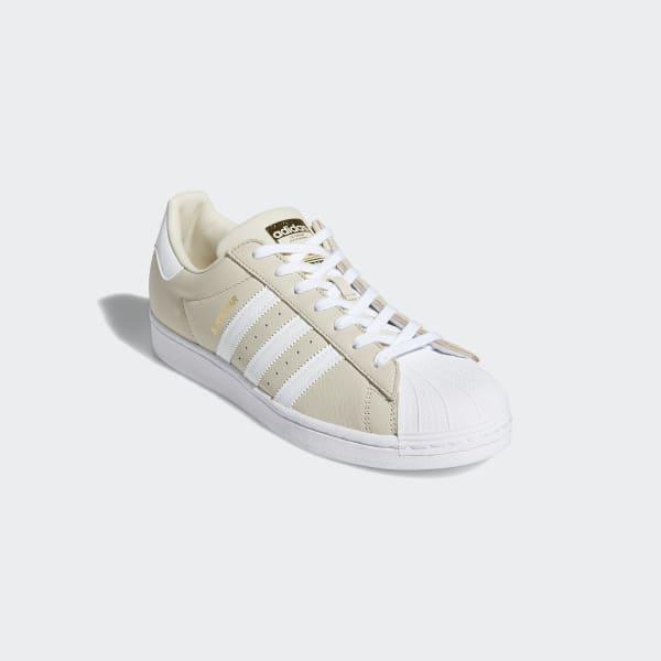 adidas superstar blanc beige