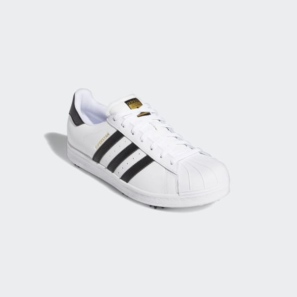 Adidas Golf Superstar Spiked Shoes White Adidas Us