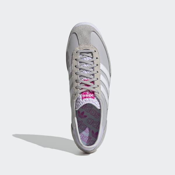 empresario desierto no  adidas Women's SL 72 Shoes in Grey and White   adidas UK