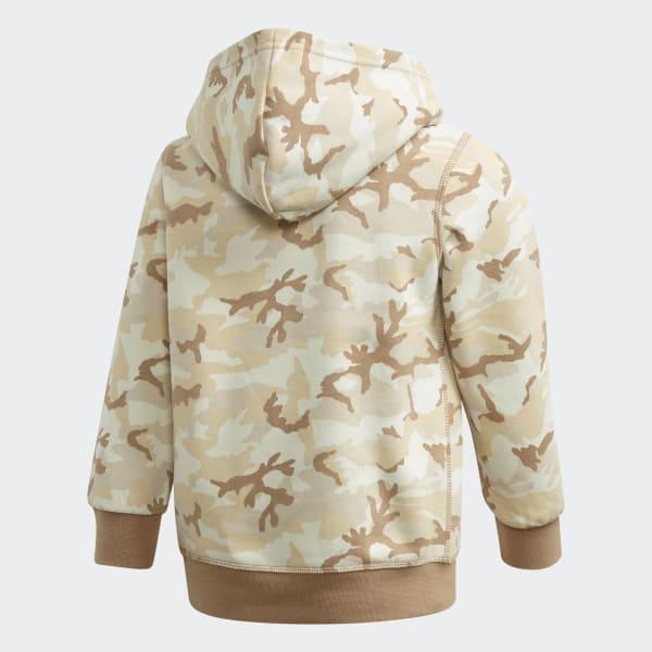 adidas Camouflage Hoodie Schwarz | adidas Austria