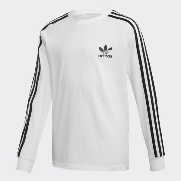 adidas Originals Barn T Shirt 3Stripes WhiteBlack
