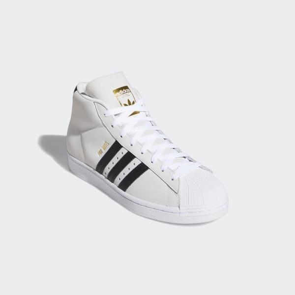 adidas Pro Model Shoes - White | adidas US