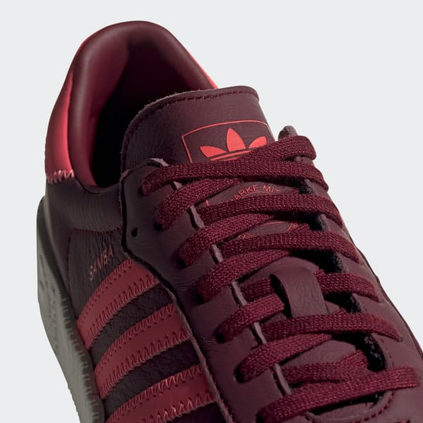 adidas SAMBAROSE Shoes - Burgundy