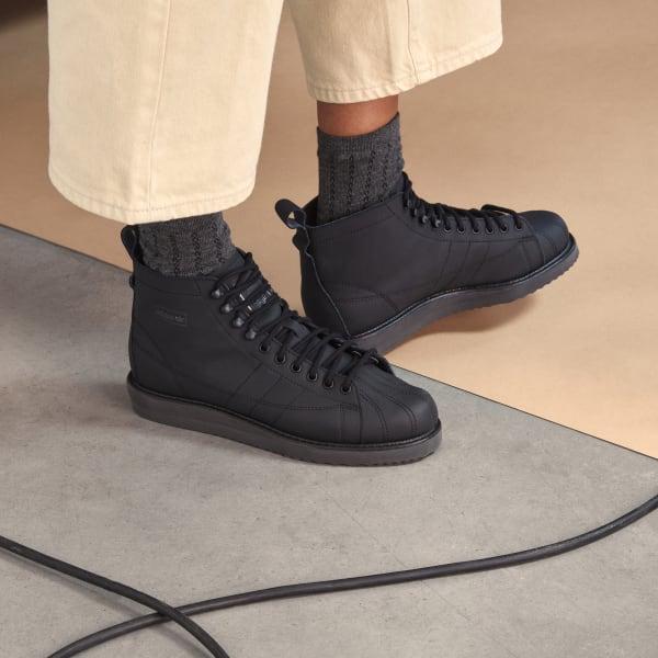 adidas Superstar Boots - Black   adidas