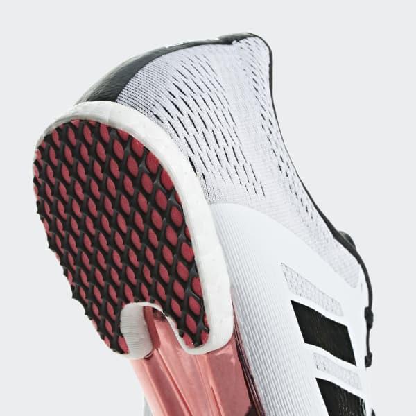 a62a9515d51 adidas Sapatos de Bicos Meio-Fundo Adizero - Branco