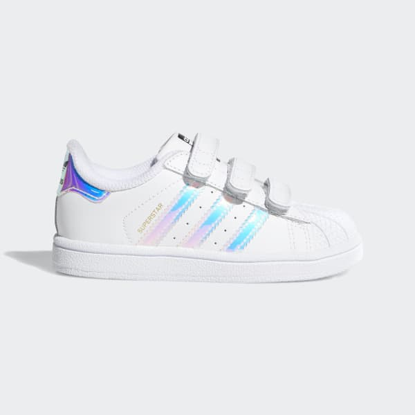 eb1534bed77 Superstar Shoes.  50. Superstar Shoes Cloud White   Cloud White   Metallic  Silver AQ6280
