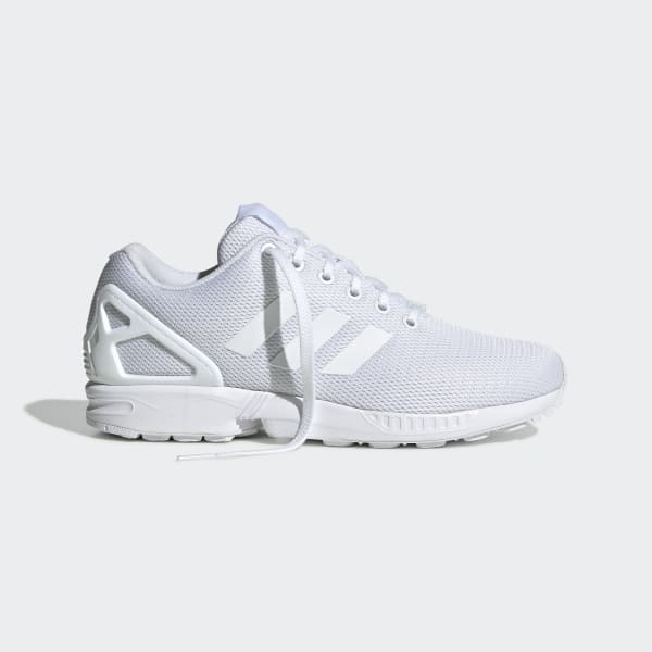 adidas originals zx flux joggesko hvit