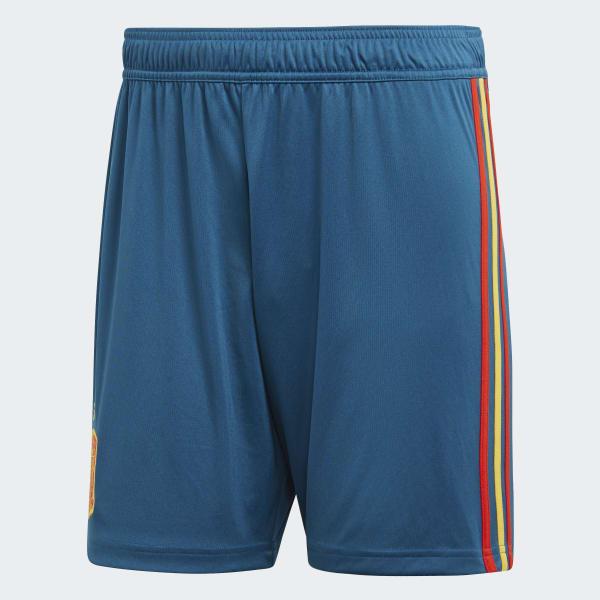 Shorts Oficial Espanha 1 2018 - Azul adidas  029e4a820884b