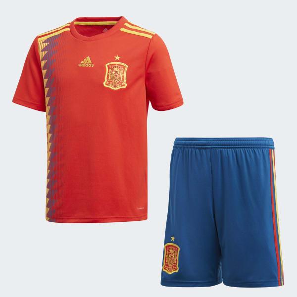 adidas Spain Home Mini Kit - Red  b6715b23b