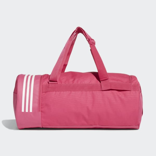 f94b5bbc8ba8 adidas Convertible 3-Stripes Duffel Bag Medium - Pink