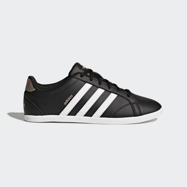 Adidas Coneo Qt MarinenRosaHvite   Adidas Sko Dame På Nett