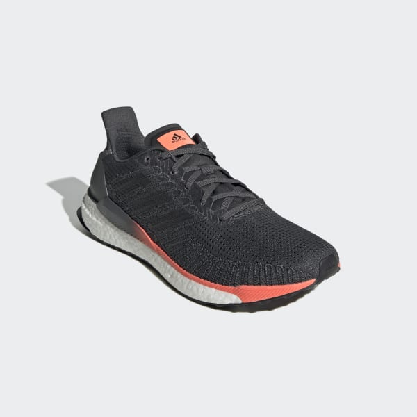 adidas Solarboost 19 Running Shoes Men grey six core black signal coral