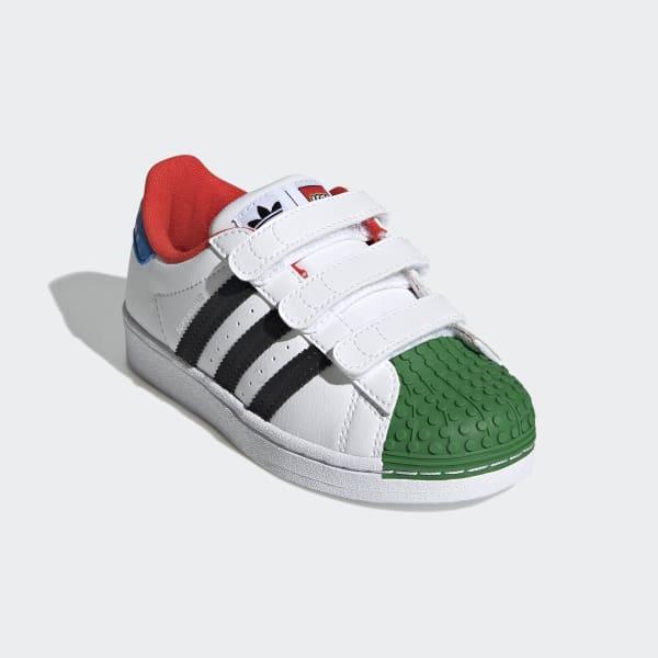 adidas Superstar x LEGO® Shoes - White | adidas US