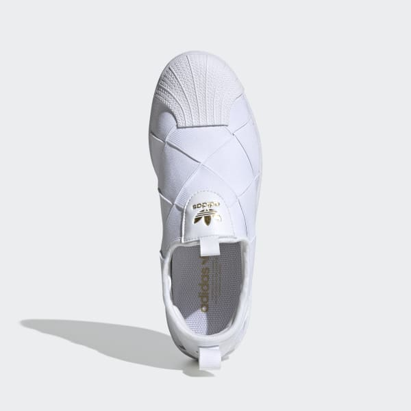 adidas Superstar Slip-on Shoes - White   FV3186   adidas US