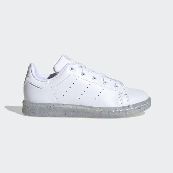 glitter white tennis shoes