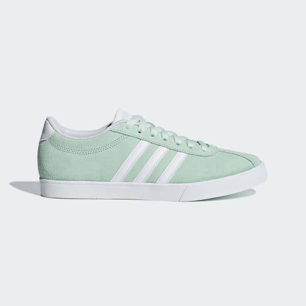 Blå Adidas Courtset Sko