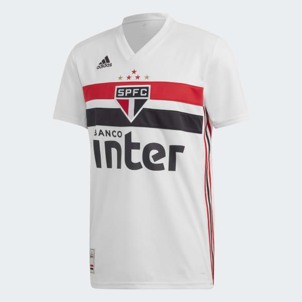 Jaqueta Adidas Apresentação do São Paulo FC Masculina Branco
