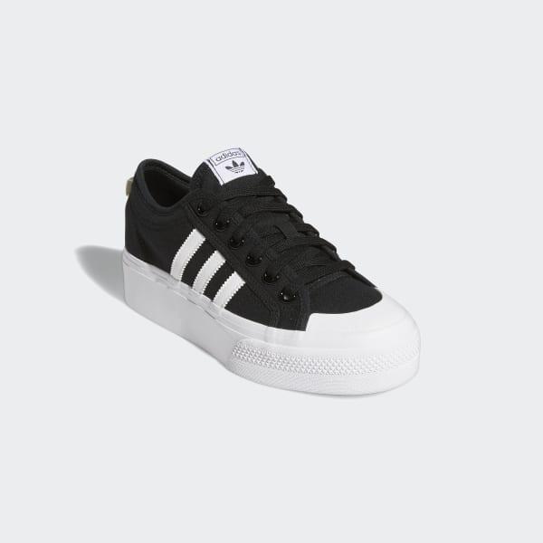 adidas Nizza Platform Shoes - Black