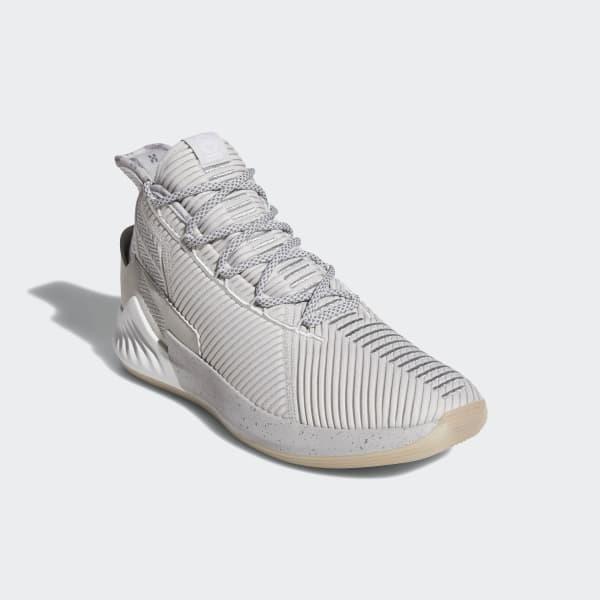 6b94457cd89 adidas D Rose 9 Shoes - Grey