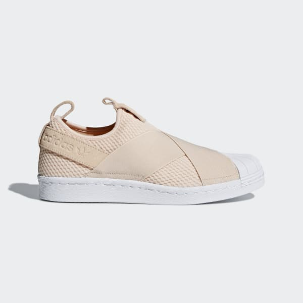 adidas Superstar Slip-on Shoes - Beige | adidas US | Tuggl