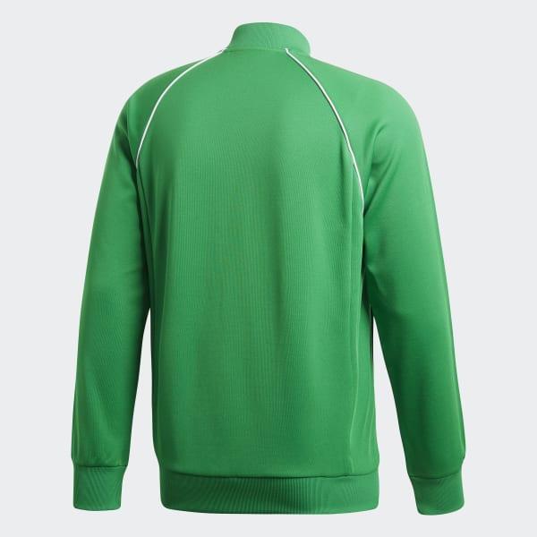 Jaqueta Sst Tt - Verde adidas  7d8a975357056
