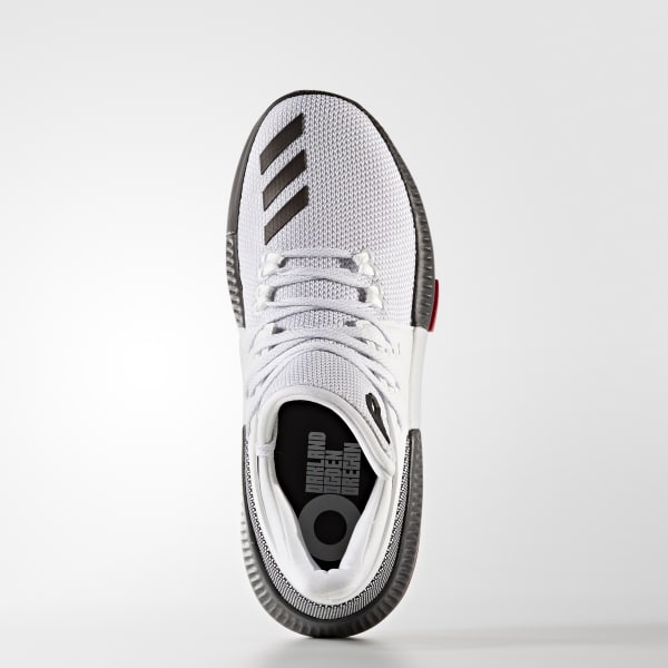 cd9562c5111d adidas Youth Dame 3 Shoes - White