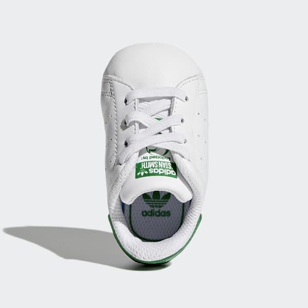 encender un fuego taburete botón  Baby Stan Smith Cloud White and Green Shoes | adidas US