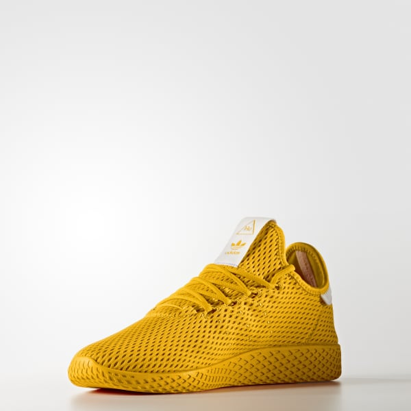 8f0727e9d77 Tênis Pharrell Williams Tennis Hu - Amarelo adidas