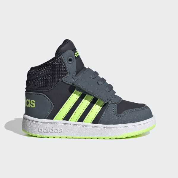 adidas Hoops 2.0 Mid Shoes - Blue