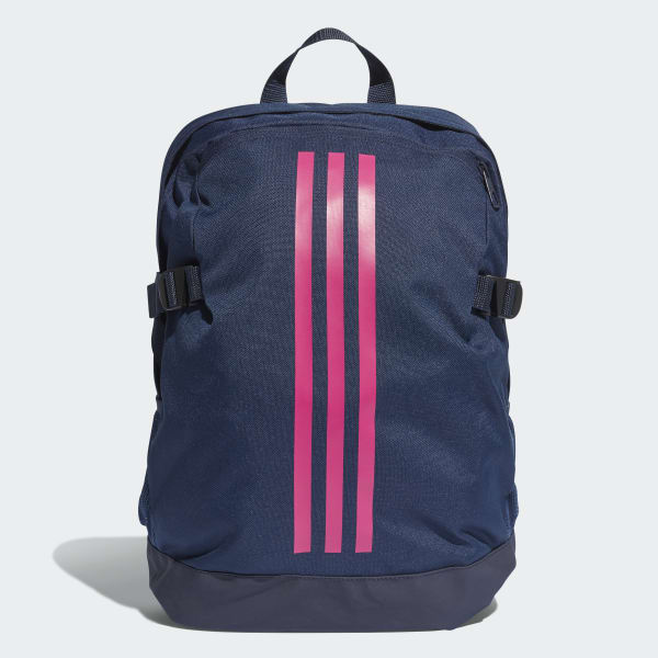 65ce3c1868 adidas 3-Stripes Power Backpack Medium - Blue