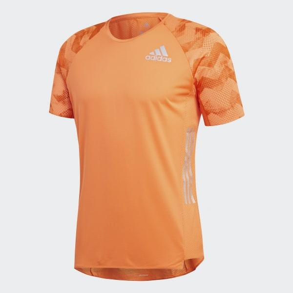 adidas Playera Adizero - Naranja  9dc985ec32ed2