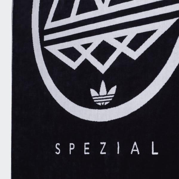 classic styles designer fashion detailed pictures adidas Spezial Logo Towel - Blue | adidas US