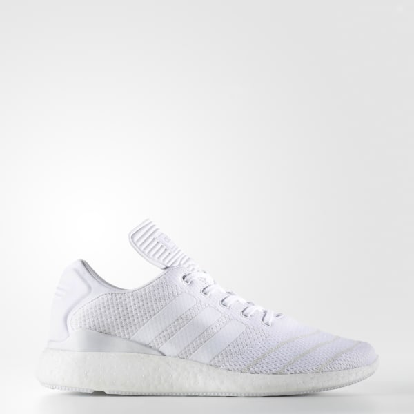 Adidas Busenitz PureBOOST Shoes BB8376 White TopDeals