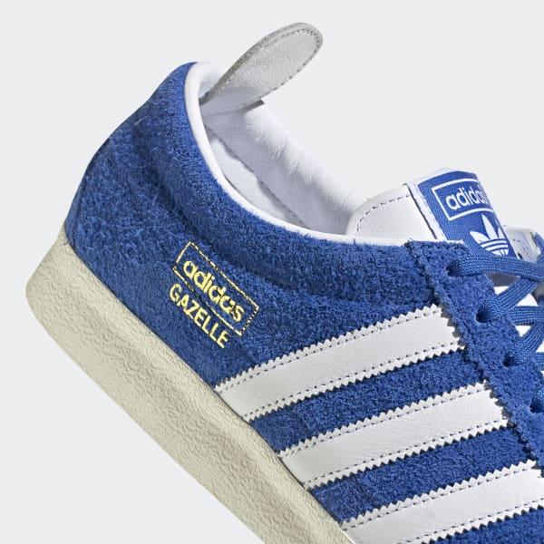 adidas blu gazelle