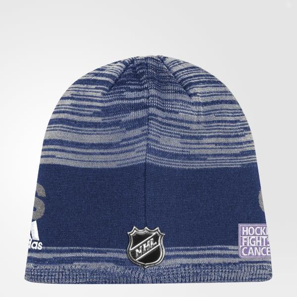 Bonnet Hockey Fights Cancer Canucks Heathered