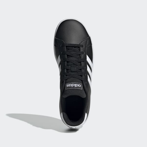 Cinemática Melodramático sólido  adidas Grand Court Shoes - Black | adidas Philipines