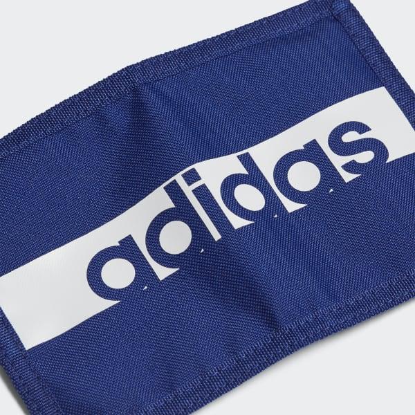 Montaña Kilauea emprender Especialista  adidas Linear Performance Wallet - Blue | adidas Turkey