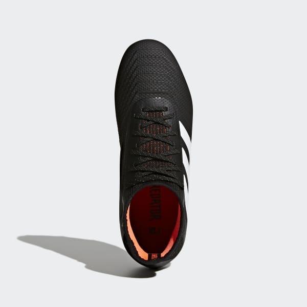 e6287b00ab0b adidas Predator 18.1 Firm Ground Boots - Black